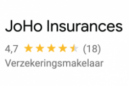 Google reviews JoHo insurances